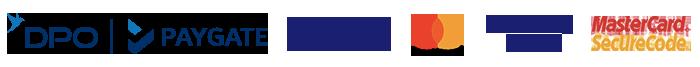 PayGate Card Brand Logos