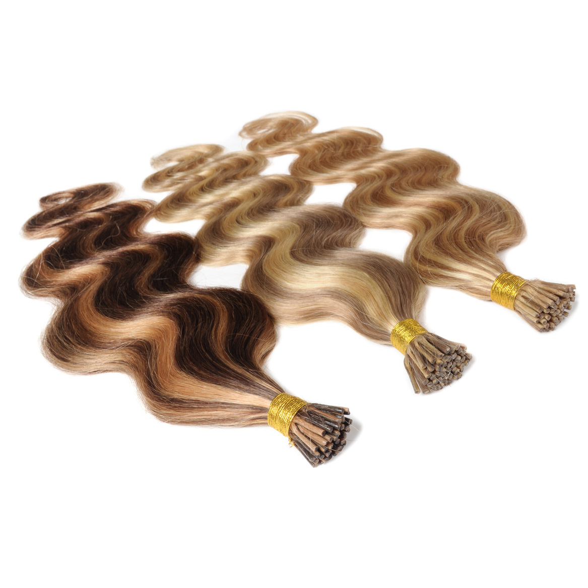 I-Tip Brazilian Remy Double Drawn 1g 25 Strands