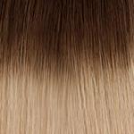 4t24 Chocolate brown to light beige blonde